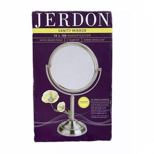 Table Top Two Sided Vanity Mirror